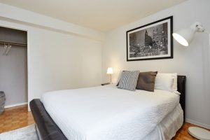 Short-term rental stay in Toronto