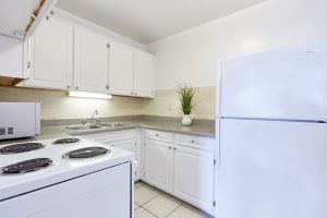 Furnished kitchen facilities Uptown Toronto