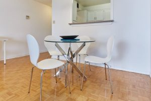 Fully furnished apartments at Sherbourne