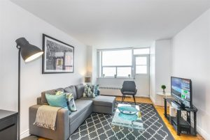 Furnished apartments in Uptown Toronto